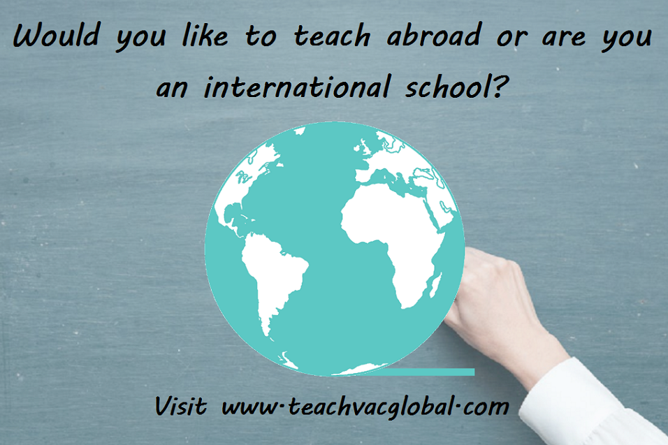 Advert for TeachVac Global
